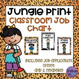 Classroom Jobs in Jungle Print!