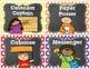 Classroom Jobs in PRIMARY polka Dot & Chalkboard with EDITABLE Job Cards