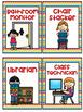 Classroom Jobs in Primary Chevron!