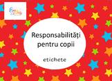 Classroom Jobs in Romanian