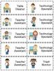 Classroom Jobs or Helpers Chart