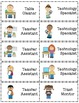 Classroom Jobs or Helpers Chart