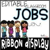 Classroom Jobs {ribbon display}