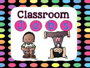Classroom Jobs with Application