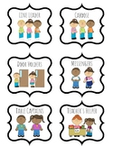Classroom Jobs with Clipart