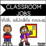Jobs with Editable Names
