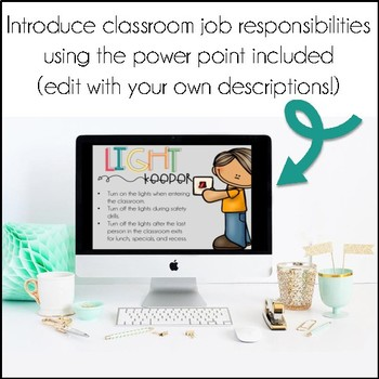 Classroom Jobs (with Introductory Power Point)