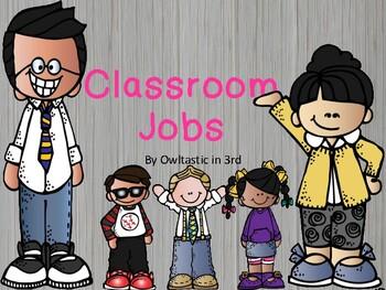 Classroom Jobs with Melonheadz