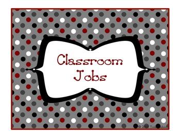 Classroom Jobs/Helpers