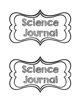 Classroom Journal Covers