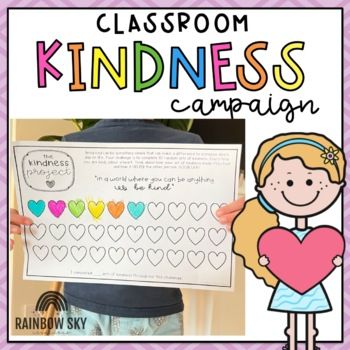 Classroom Kindness Campaign Activity Pack