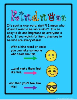 Classroom Kindness Challenge Emoji Themed By All Jazzed
