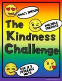 Classroom Kindness Challenge - Emoji Themed