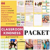 Classroom Kindness Packet + Activities + Station + Wonder Movie Guide