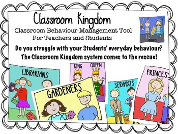 Classroom Kingdom Behavior Management Tool - Classroom Jobs