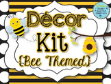 Classroom Decor Kit {Bee Themed}