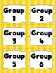 "Classroom Label Bundle:  All 10 ""Colorful Stripes"" Sets"
