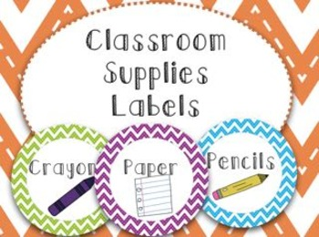 Classroom Label FREEBIE