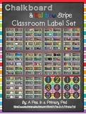 Editable Classroom Label Set: Supplies, Library, Manipulat