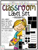 Classroom Theme Label Starter Pack {100+ EDITABLE Designs!}
