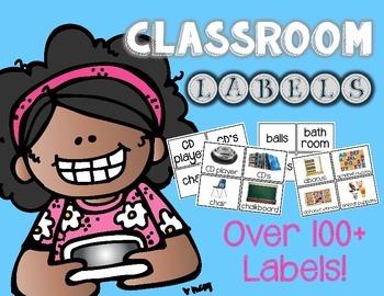 Classroom Labels (100+ labels)