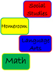 Classroom Labels: Variety Pack