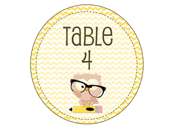 Classroom Name Tags & Labels