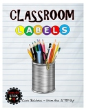 123 Colorful Classroom Labels with Pictures