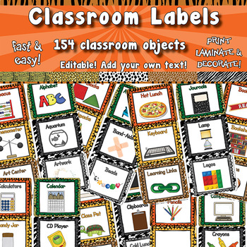 Classroom Labels  APT-001