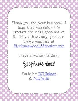 Classroom Labels-Art Supplies-Purple