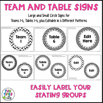 Classroom Labels {Black & White Theme}