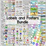 Classroom Labels Bundle