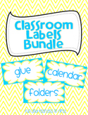 Classroom Labels Bundle