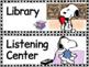 Peanuts Classroom Labels Bundle