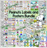 Peanuts Snoopy Classroom Labels Bundle