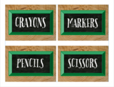 Classroom Labels, Camp Wilderness Theme (Editable)