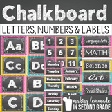 Chalkboard Letters, Numbers, and Labels {Classroom Decor}