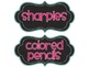 Classroom Labels- Chalkboard and Pink Design