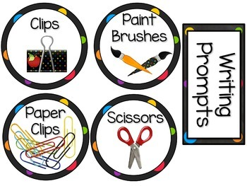 Classroom Labels (Chalkboard themed)