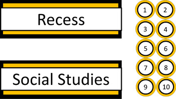 Classroom Labels - Charlie Brown Tribute Colors Megabundle