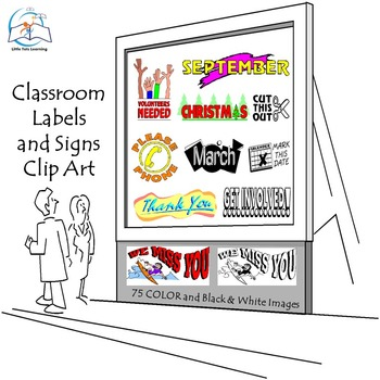 Classroom Labels and Signs