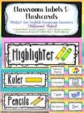 Classroom Labels/ESL Cards