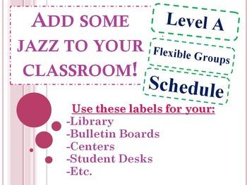 Classroom Labels **Editable**