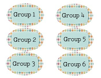 Free Classroom Labels