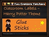 Classroom Labels Harry Potter Theme