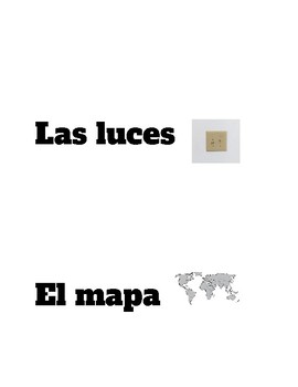Classroom Labels (In Spanish)