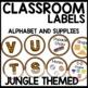 Classroom Labels (Jungle Themed)