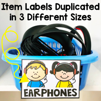 Classroom Labels / Labels for Almost Everything / Sterilite Drawer labels
