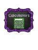 "Classroom Labels {Large 5.83 x 7}: Glitter & Chalk - ""Ready To Print"" PDF Format"