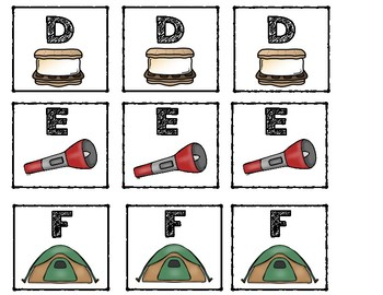 Labels: Leveled Library ~ Camping Theme